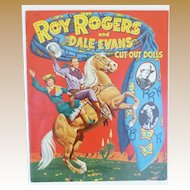 Uncut Roy Rogers And Dale Evans Paper Dolls