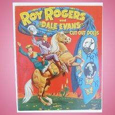 Uncut Roy Rogers And Dale Evans Paper Dolls