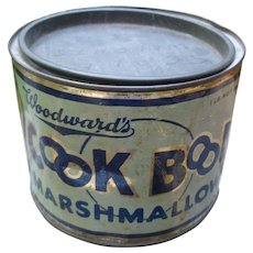 Cook Book Marshmallow Tin