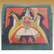 1934 Whitman Halloween Fortune Telling Game