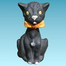 Halloween Black Cat Candy Container