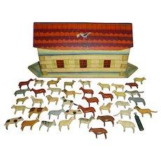 Fantastic Folk Art Noah's Ark