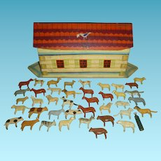 Fantastic Folk Art Noah's Ark