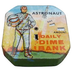 Astronaut Daily Dime Register Bank