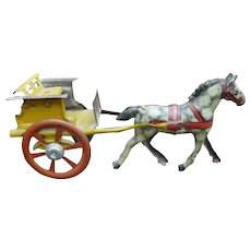 Horse And Cart Penny Toy