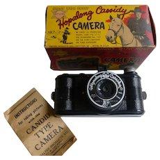 Hopalong Cassidy Camera With Original Box