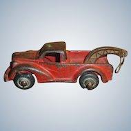 Arcade Cast Iron Tow Truck