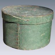 Antique Pantry Box In Original Paint