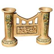 Roseville Florentine Double Vase