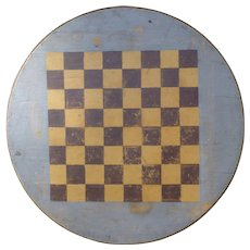 Early 20th Century Folk Art Gameboard