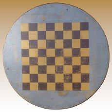 Early 20th Century Folk Art Gameboard