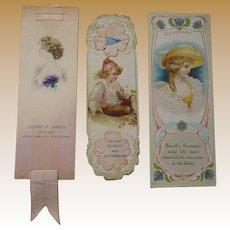 Victorian Bookmark Trade Cards