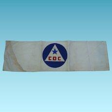 WWII Civil Defense Arm Band