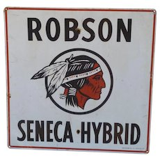 Robson Seed Advertising Sign - Great Indian Graphics!