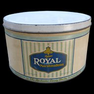 Large Royal Marshmallows Tin