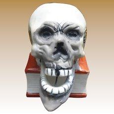 Halloween Skeleton Candle Holder