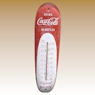 Coca Cola Cigar Thermometer