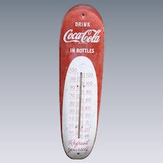 Coca Cola Cigar Thermometer