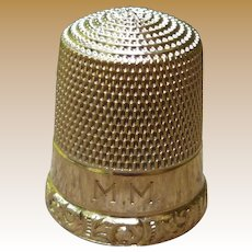 10K Simon Bros. Thimble