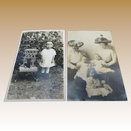 Precious Teddy Bear Real Photo Postcards