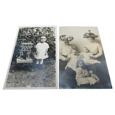 Precious Teddy Bear Real Photo Postcards