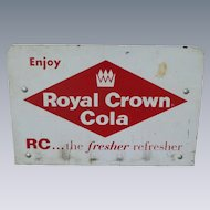 Royal Crown RC Cola Rack Top Advertising Sign