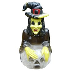Halloween Witch Bank Candy Container