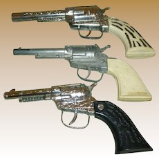 Toy Cap Pistols And Lone Ranger Holster