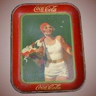 1930 Bather Girl Coca Cola Tray