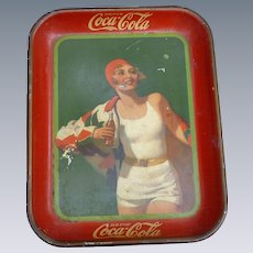 1930 Bather Girl Coca Cola Tray