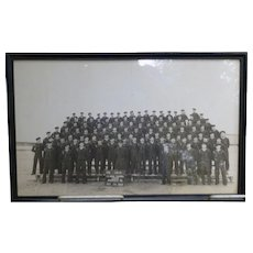 Original Military Photo US Naval Training Center 1944