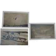 Early Aviation Real Photo Postcards