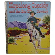 Hopalong Cassidy And The Bar 20 Cowboy Little Golden Book