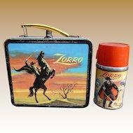 Aladdin Zorro Lunchbox And Thermos