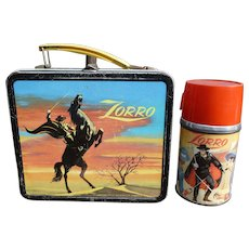 Aladdin Zorro Lunchbox And Thermos