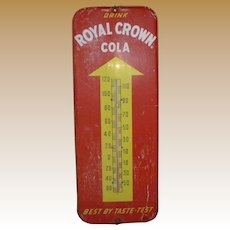 Royal Crown Cola Thermometer