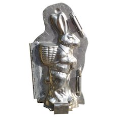 Hinged Rabbit Easter Chocolate Mold