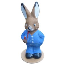 Sweet Composition German Easter Rabbit Figure
