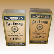 McCormick Bee Brand Boxed Whole Allspice