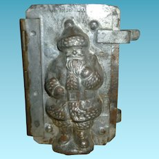 Van Emden Santa With Bag Of Toys Chocolate Mold