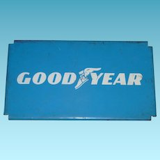 Good Year Tires Rack Top Advertising Sign