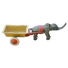 German Nodding Elephant Penny Toy