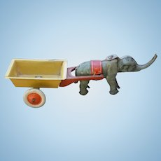 German Nodding Elephant Penny Toy