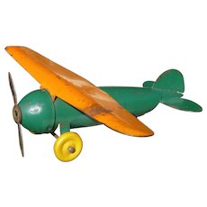 Wyandotte Pressed Steel Fighter Airplane