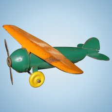 Wyandotte Pressed Steel Fighter Airplane