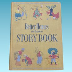 1950 Better Homes And Gardens Story Book Little Black Sambo ++