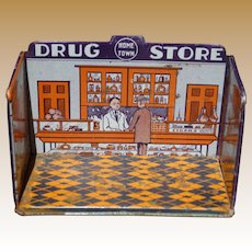 Marx Home Town Tin Drug Store