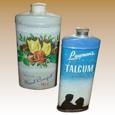Vintage Powder Tins