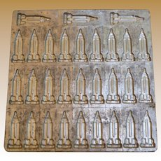 Vintage Empire State Building Industrial Chocolate Mold