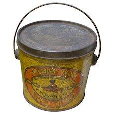 Pickaninny Brand Peanut Butter Tin